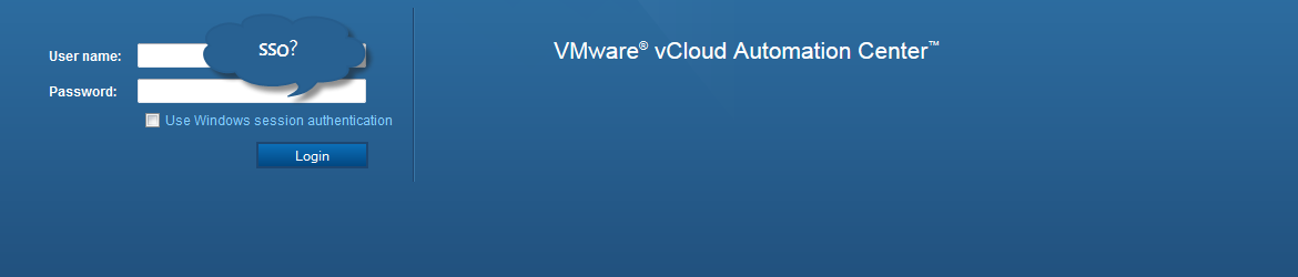vRealize Automation 6.1, SSO and the Identity Appliance