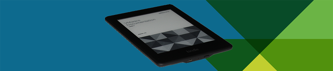 Keeping Up to Date and Reading VMware Documentation on Amazon Kindle